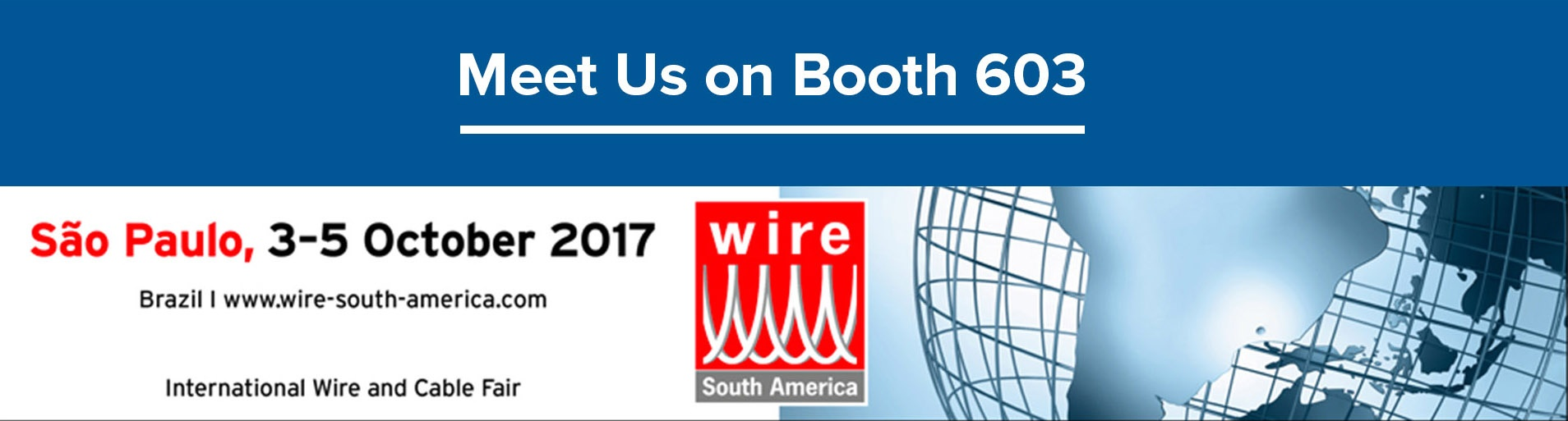 Hope to See You in wire South America 2017